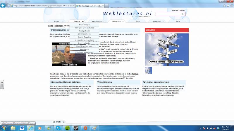 weblecturespuntnl