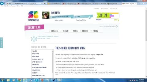 SuperBetterSecretLabScience