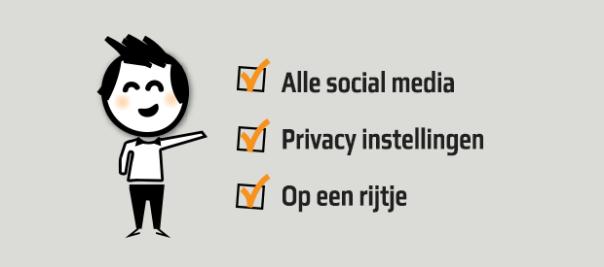 Social-media-privacy-instellingen